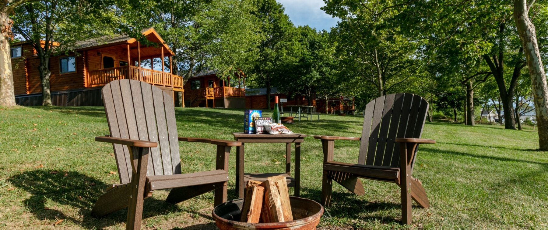 Campfire And Cabins