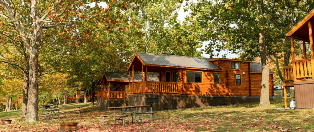 Fall Cabins