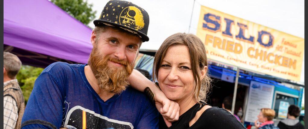 Jesse & Katie At Truck