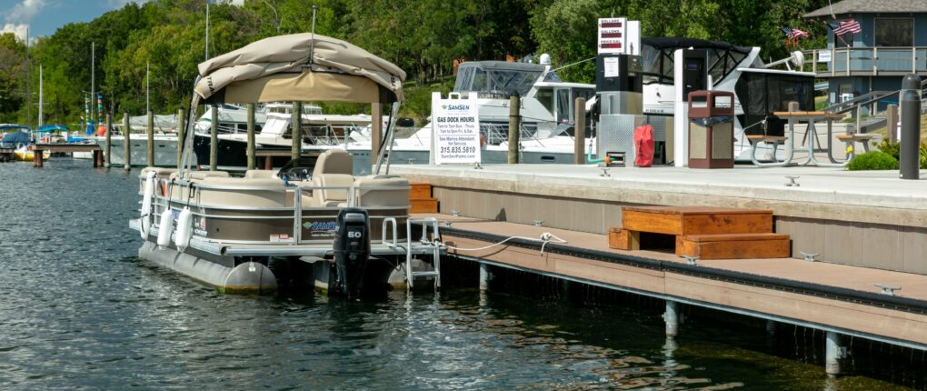 Pontoon And Gas Dock