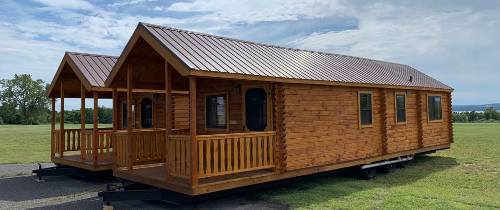New Cabins Exterior at Sampson State Park