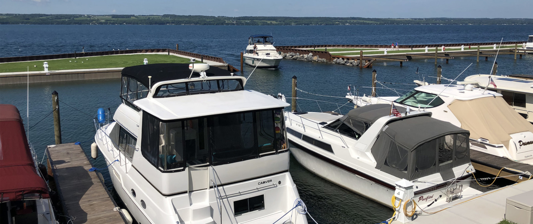 Samsen Marina Seneca Lake Boat Entrance 9320