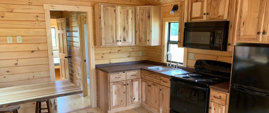 Samsen One Bedroom Cabin Kitchen Interior