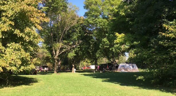 Sampson State Park offers tent, RV and cabin camping